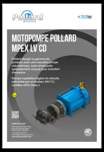 Motopompe Pollard MPEX LV CD